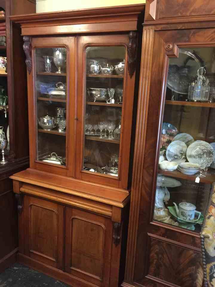 Original Australian Cedar Bookcase Antiques Melbourne