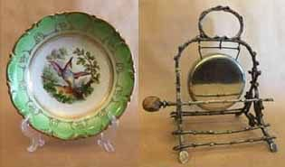 Antique Chinaware Silverware Collectables & Clocks