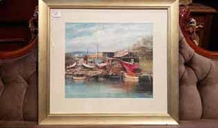 All antique paintings prints and estate artworks