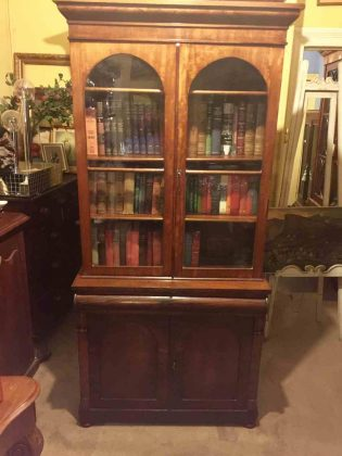 Antique Bookcase circa 1870