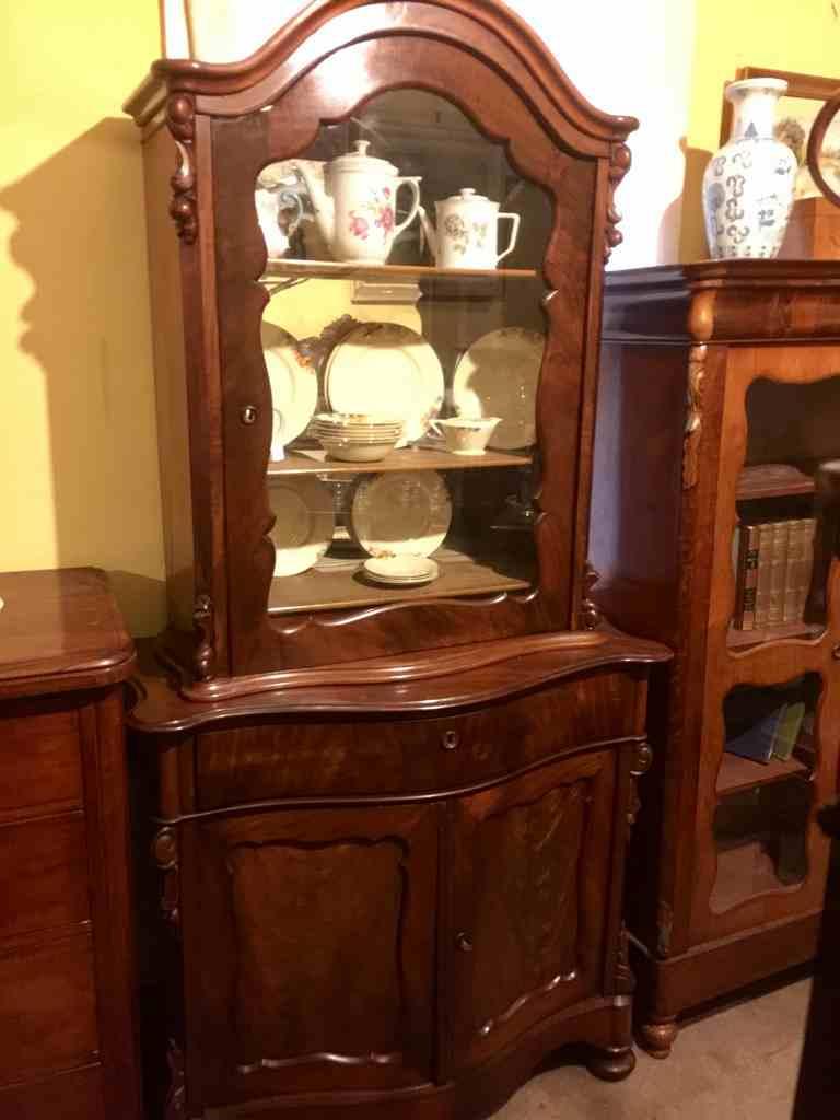 Antique Dutch Mahogany Cabinet Antiques Melbourne Antique