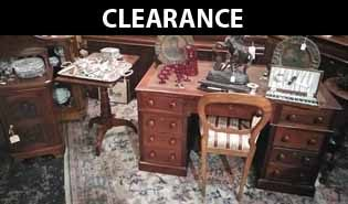 Clearance/overstocked Antique Furniture