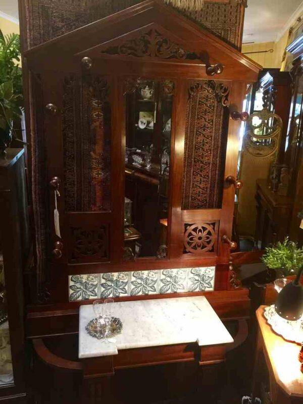 antique hallstand 1880